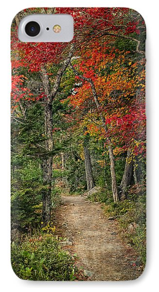 IPhone Case featuring the photograph Come Walk With Me by Priscilla Burgers