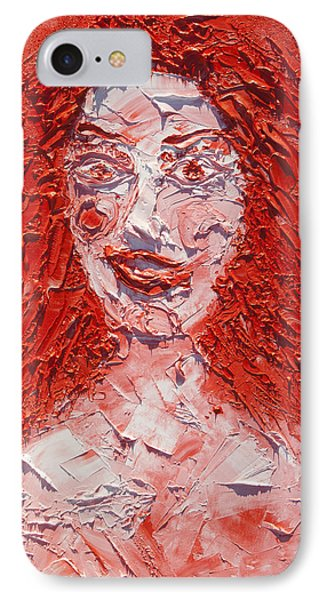 The Laughter Of Medusa IPhone Case by Sora Neva