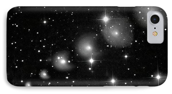 Comet 29p Schwassmann-wachmann IPhone Case by Damian Peach
