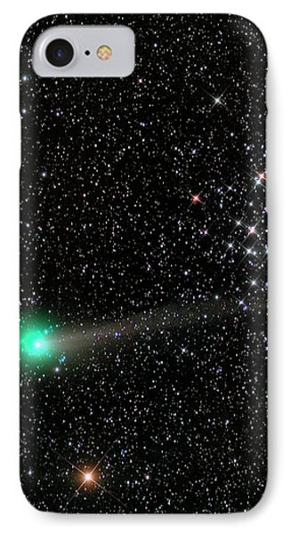 Comet C2013 R1 And Star Cluster M44 IPhone Case