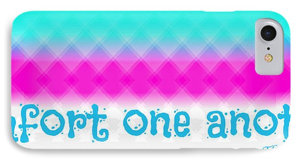 Comfort One Another IPhone Case by Allen Beilschmidt