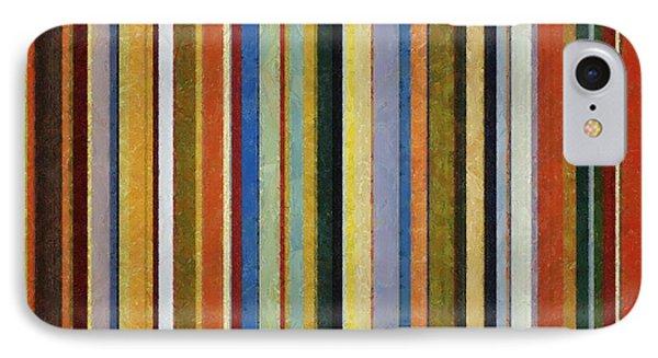 Comfortable Stripes V Phone Case by Michelle Calkins