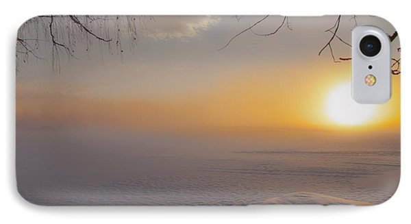 IPhone Case featuring the photograph Comfortable Winter View by Rose-Maries Pictures