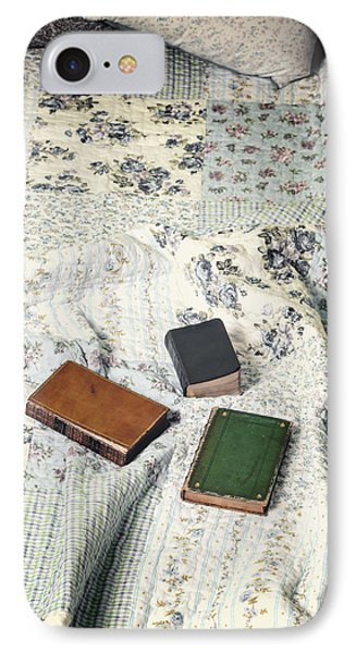Comfy Reading Time Phone Case by Joana Kruse