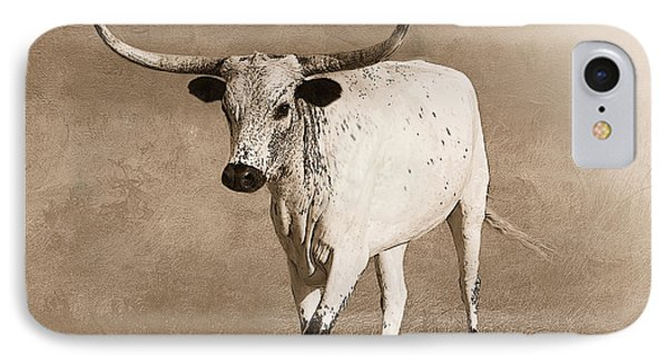 Coming Home In Sepia IPhone Case by Betty LaRue