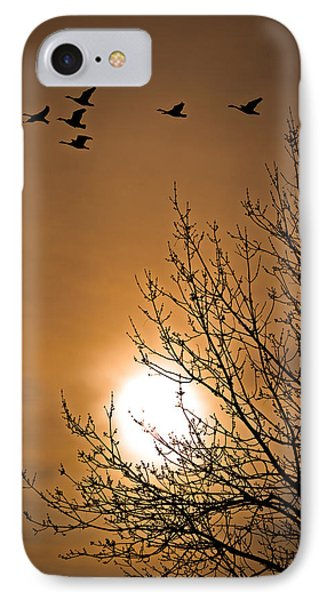 Coming Home In The Spring Phone Case by Bob Orsillo