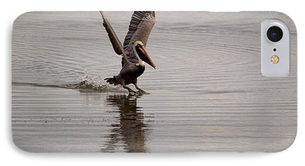 IPhone Case featuring the photograph Coming In For A Landing by Sandy Molinaro