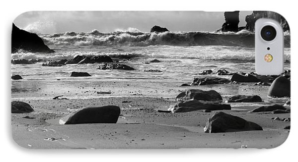 Coming In Waves IPhone Case by Deena Otterstetter