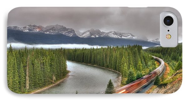 IPhone Case featuring the photograph Coming 'round The Bend' by Wanda Krack