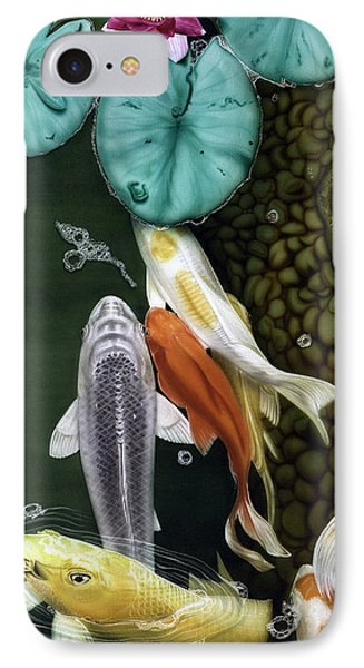 Coming Up Short IPhone Case by Dan Menta