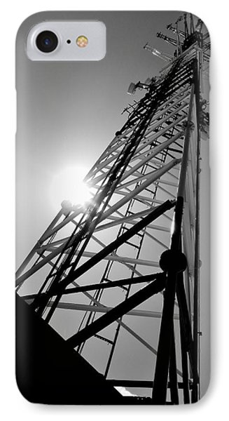 Comm Tower IPhone Case by Amar Sheow