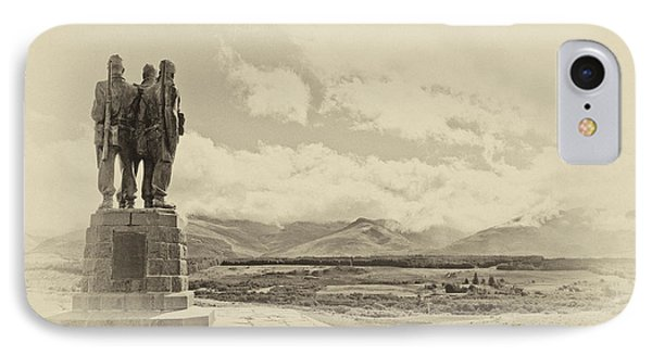 Commando Memorial 3 IPhone Case