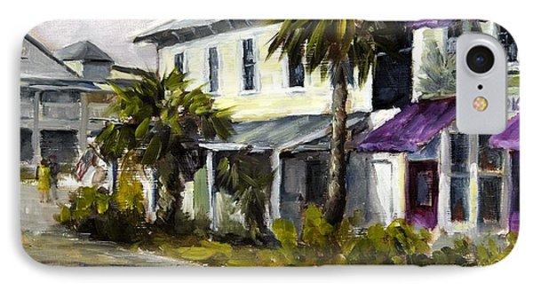 Commerce And Avenue D Phone Case by Susan Richardson