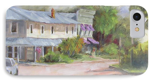 Commerce Street Apalach IPhone Case by Susan Richardson