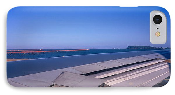 Commercial Airplane Taking IPhone Case by Panoramic Images