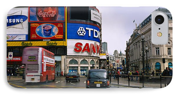 Commercial Signs On Buildings IPhone Case