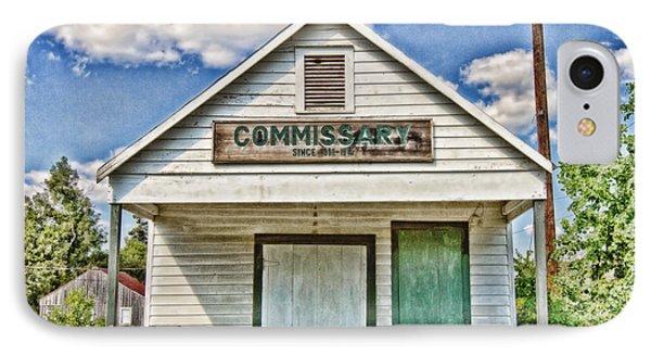 Commissary Phone Case by Scott Pellegrin