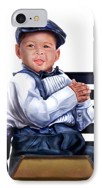 Commissioned - Handsome Baby Boy 1a Phone Case by Reggie Duffie
