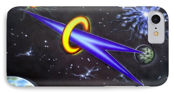 IPhone Case featuring the painting Commitment by Kenneth Clarke