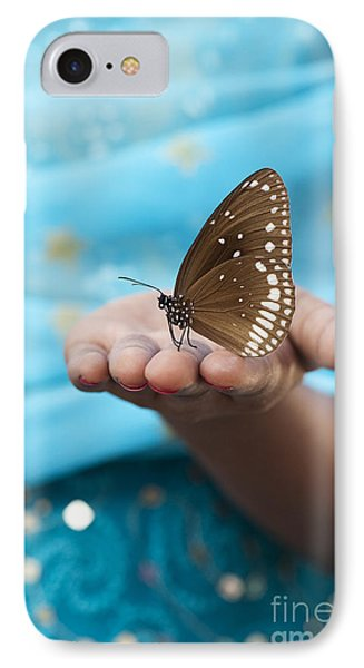 Common Crow Butterfly IPhone Case
