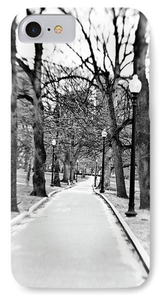 Commons Park Pathway Phone Case by Scott Pellegrin