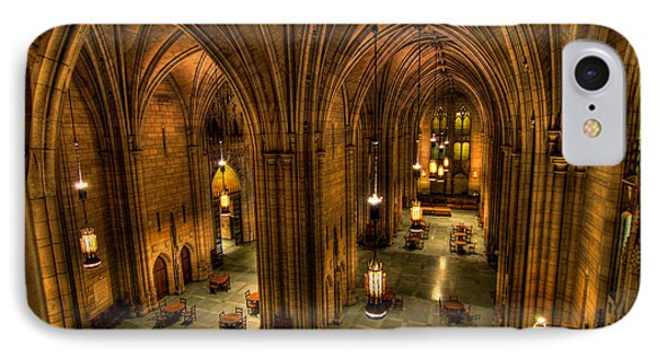 Commons Room Cathedral Of Learning University Of Pittsburgh Phone Case by Amy Cicconi