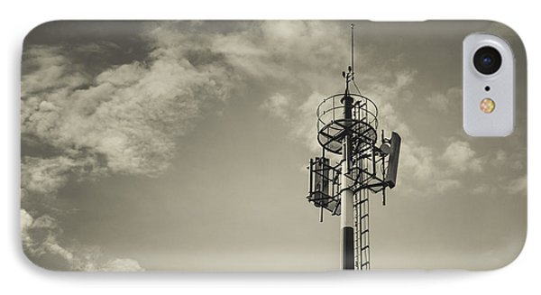 Communication Tower Phone Case by Marco Oliveira