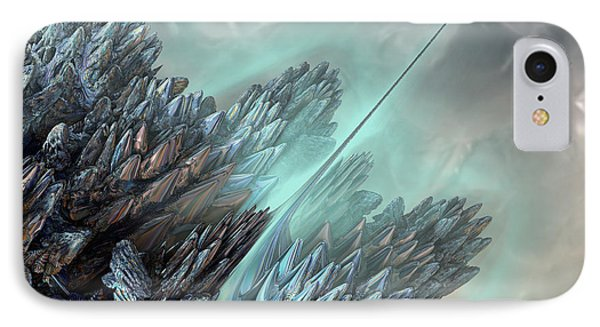 IPhone Case featuring the digital art Communication Tower by Melissa Messick