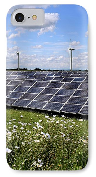 Community Owned Solar Farm IPhone Case