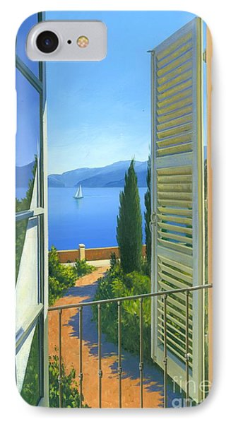 Como View Phone Case by Michael Swanson
