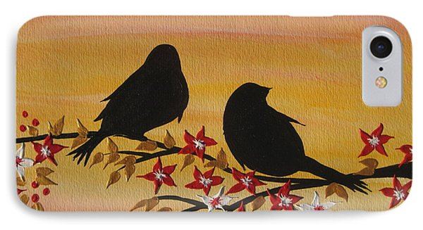 Companionship IPhone Case by Cathy Jacobs