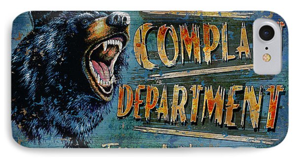 Complaint Department IPhone Case