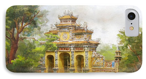Complex Of Hue Monuments IPhone Case by Catf