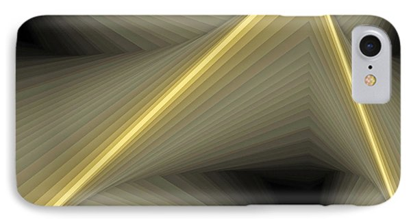 Composition 100 IPhone Case by Terry Reynoldson