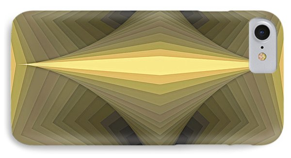 Composition 147 IPhone Case by Terry Reynoldson