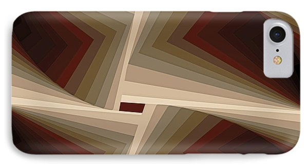 Composition 162 IPhone Case by Terry Reynoldson