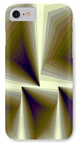 Composition 166 IPhone Case by Terry Reynoldson