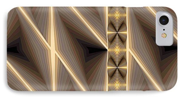 Composition 236 IPhone Case by Terry Reynoldson