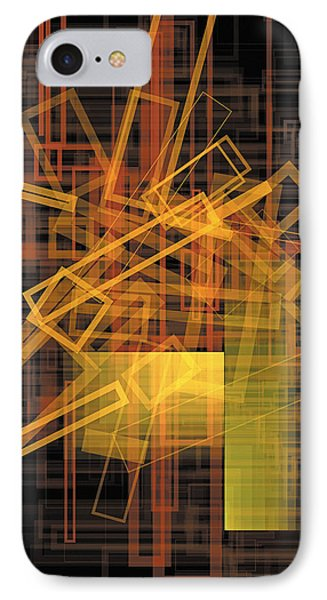 Composition 26 IPhone Case by Terry Reynoldson