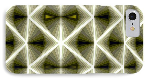 Composition 266 IPhone Case by Terry Reynoldson