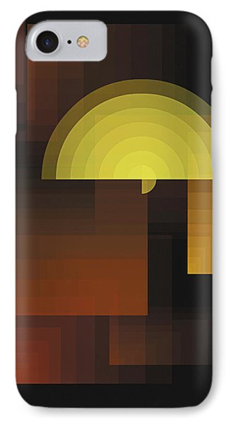 Composition 27 IPhone Case by Terry Reynoldson