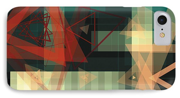 Composition 36 Phone Case by Terry Reynoldson