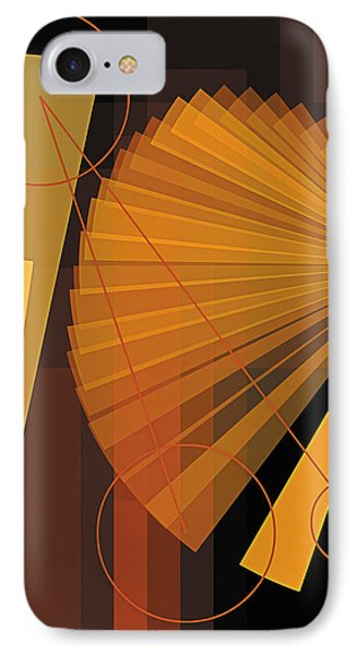 Composition 39 IPhone Case by Terry Reynoldson