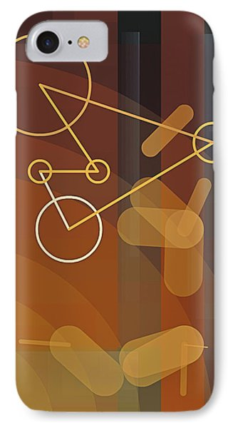 Composition 50 Phone Case by Terry Reynoldson