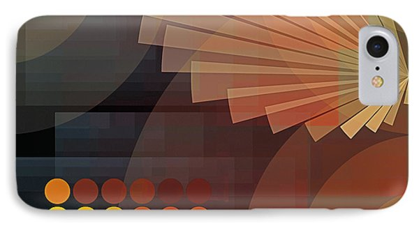 Composition 51 IPhone Case by Terry Reynoldson