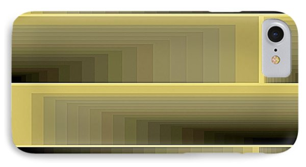 Composition 79 IPhone Case by Terry Reynoldson