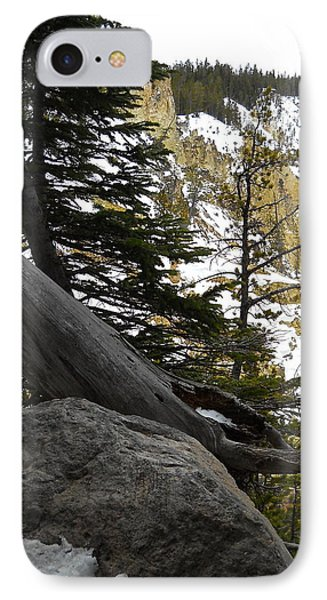 IPhone Case featuring the photograph Composition At Lower Falls by Michele Myers