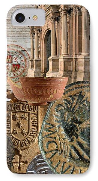Composition For Poster Xiv Jornadas De Estudios Calagurritanos Phone Case by RicardMN Photography
