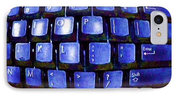 Computer Keyboard  IPhone Case