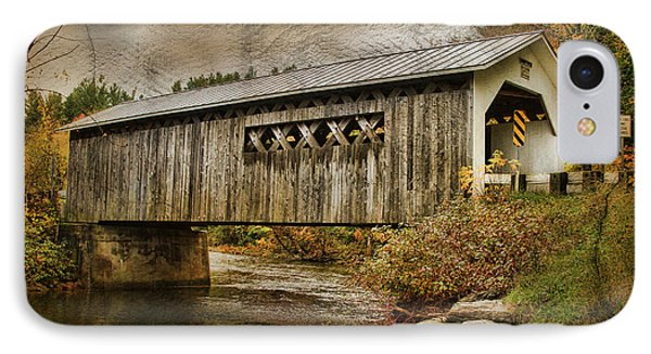 Comstock Bridge 2012 Phone Case by Deborah Benoit